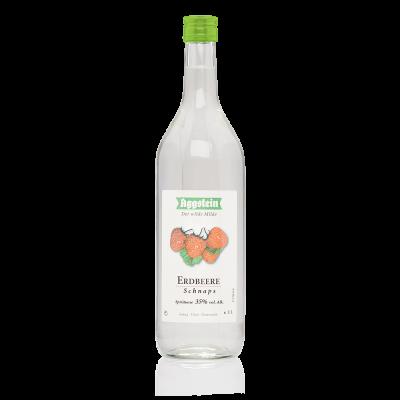 Erdbeer Schnaps 35%