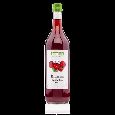 Erdbeer Limetten Likör 20%